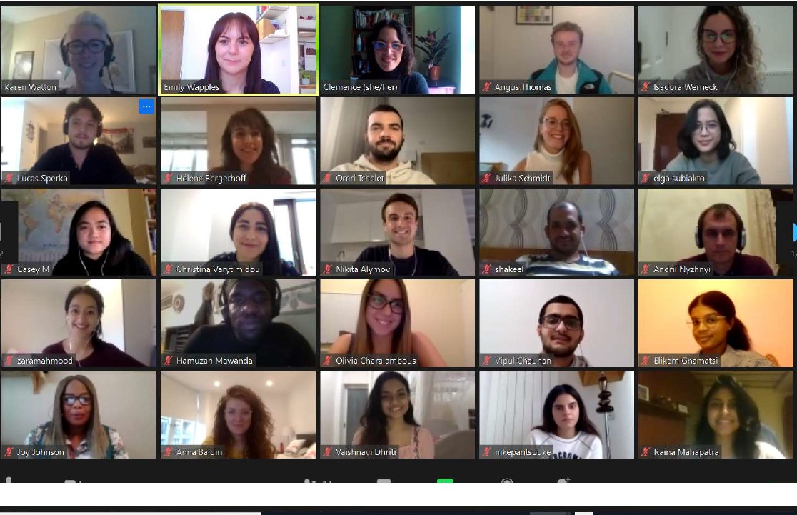 Almost 90 students joined us on Zoom for our first-ever online Induction session on Saturday 3 October 2020.